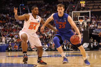 Alex Murphy's brother, Erik (right) plays for Florida