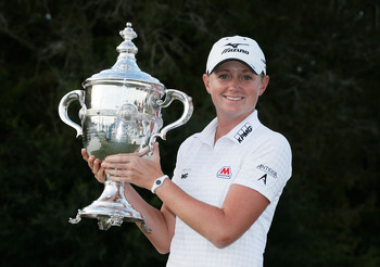 Stacy Lewis is the 2012 LPGA Rolex Player of the Year.
