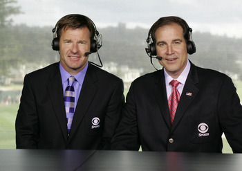 Jim Nantz is the unmistakable voice of sports at CBS.