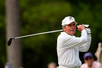 Even into his 70s, Gary Player remained competitive.