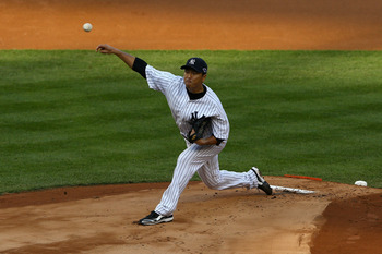 Kuroda led the New York Yankees' pitching staff while CC Sabathia missed time on the DL.