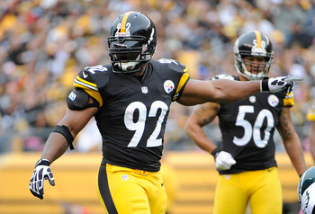 Led by James Harrison, the Steelers defense scares most offenses.