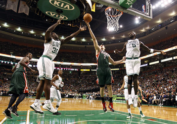 This shot probably won't be rebounded by the Celtics