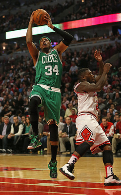 Pierce hasn't shot the bell well thus far