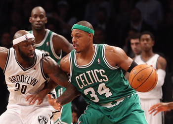 Paul Pierce can still score the ball, but he certainly is not getting any better this season