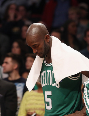 Father time is threatening. KG won't let it get him down just yet.
