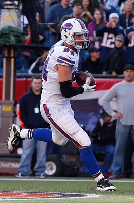 Bills tight end Scott Chandler.