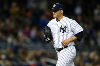A fractured ankle limited Pettitte to only 12 regular-season starts.