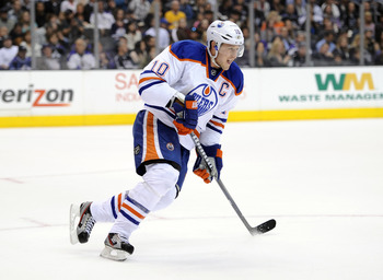 One of the talented young Oilers would happily take the $5.5 million per year that Horcoff earns.