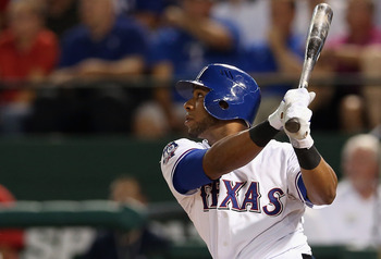 Who will comprise the Rangers middle infield in 2013?