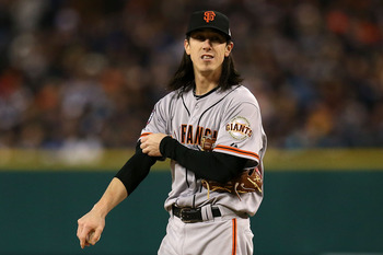 The Giants won a championship without Tim Lincecum in Cy Young form.