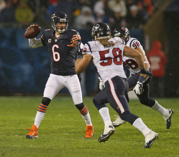 Cutler and the offense have struggled for much of the year.