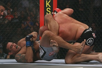 Werdum's upset of Emelianenko seriously harmed his earning power for Strikeforce. Photo c/o sherdog.com.