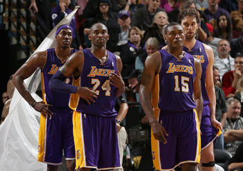 No doubt the Los Angeles Lakers thought their record would be better