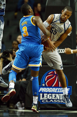 Jordan Adams has the ball stripped away from him.