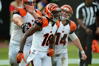 Andy Dalton and A.J. Green hope to make the playoffs again.