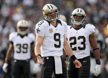 The New Orleans offense is humming thanks to Drew Brees.