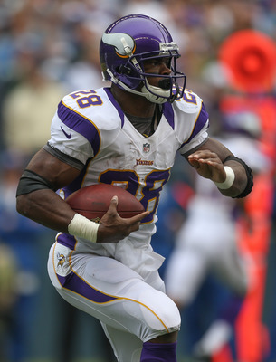 Adrian Peterson has helped lead the Vikings to a 6-4 start.