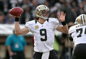 Drew Brees has led the Saints right back into the playoff race.