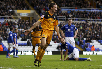 Chester celebrates his first of the season
