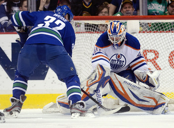 The Oilers need Devan Dubnyk to step up and seize his opportunity and prove he's a number one goaltender.