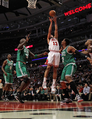 Joakim Noah will give Boston big problems in the paint