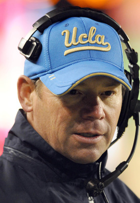 UCLA coach Jim Mora