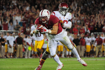 Athletic Stanford TE Zach Ertz.