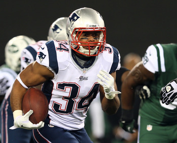 Shane Vereen has the burst needed to be a factor in New England's offense.