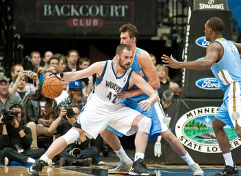 Kevin Love makes his surprise return versus the Nuggets.