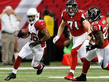 The Falcons were unable to stop Stephens-Howling last week. They'll be in for a tougher challenge this weekend.