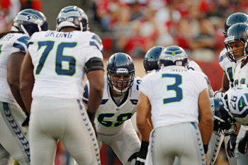 Russell Okung has been hit with a few costly penalties and a few where it was impossible to find fault with his play.