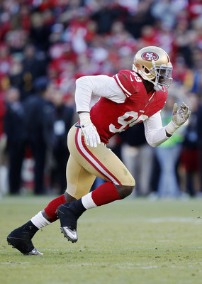 Aldon Smith leads the NFL in sacks