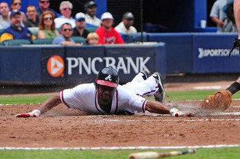 Michael Bourn provides exceptional defense and efficient base-stealing.
