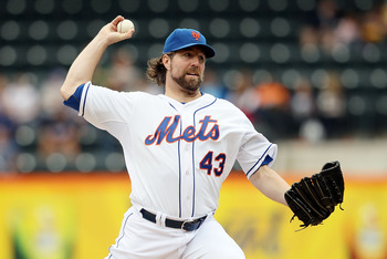 R.A. Dickey is difficult to extend because he's so unique.