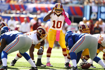 The Redskins are playing their way back into the NFC East race.