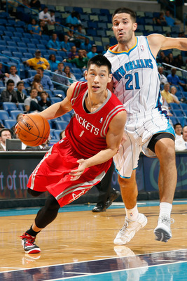 Jeremy Lin was able to turn Linsanity into a huge contract with the Houston rockets.
