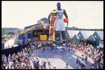 Yeah, Shaq was big. Really, really big.