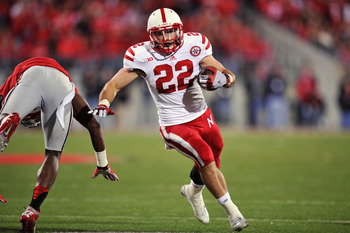Senior RB (22) Rex Burkhead