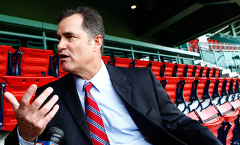 For pitching coach John Farrell returns to Boston as manager.