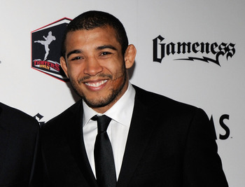 Jose Aldo is the featherweight GOAT because of his domination of the other fighters on this list.