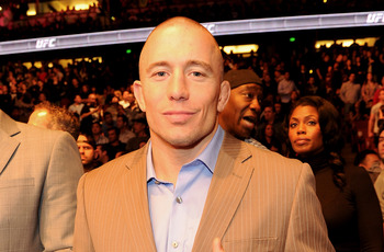Georges St-Pierre's current title reign and rubber match victory gets him the nod over Matt Hughes as welterweight GOAT.