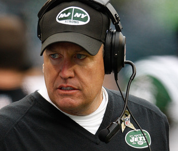 New York Jets Coach Rex Ryan