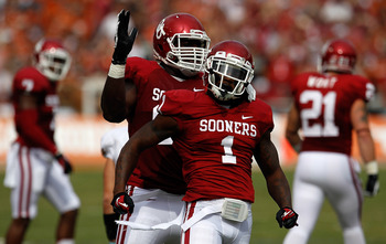 Tony Jefferson led the Sooners with 14 tackles.