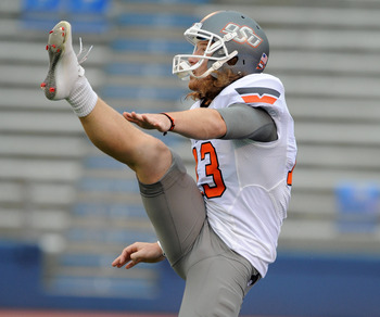 Quinn Sharp: Punter from Oklahoma State