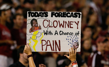 There was more than a &quot;chance&quot; of Clowney-induced pain vs. Clemson.