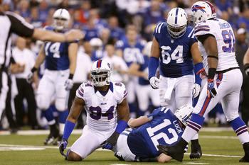 Mario Williams came up big today with three sacks.