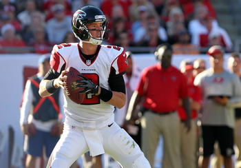 Matt Ryan bounced back with a solid Week 12 performance.
