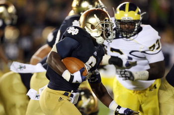 ND struggled against Michigan, but survived.