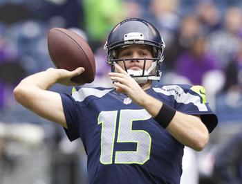 Flynn was brought in this offseason to take over as Seattle's starting quarterback